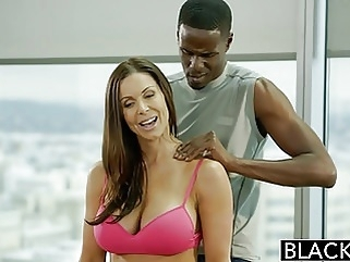 BLACKED Fitness Babe Kendra Lust Loves Huge Black Cock brunette