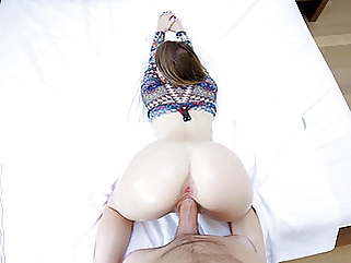 TeenCurves - Tiny Teen With Fat Ass Gets Fucked cumshot