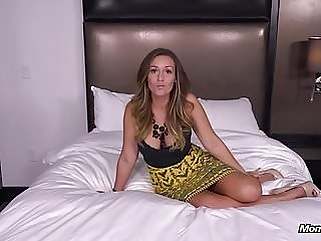 Anal Fucking a Beautiful Big Boobs Cougar POV anal