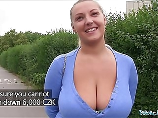 Public Agent Oversized boobs being fucked outside top rated