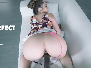 Remi Lacroix in The Perfect Fit - BlackisBetter interracial