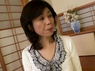 Breasty Japanese granny screwed inexperienced big tits