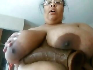 Exposed SSBBW Whore Jess fingering