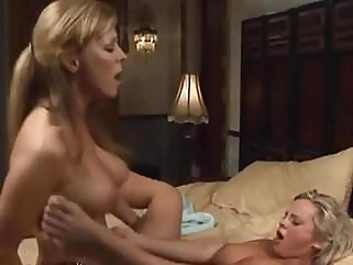 Mature Woman Seduces Busty Young Girl mature