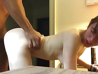 HOT GF SHARED WITH MONSTERCOCK creampie