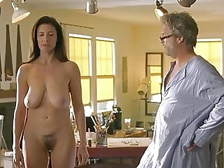Mimi Rogers Goes Full Frontal Showing Milf Udders & Bush mature