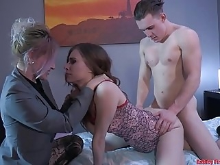 Mommy and Brother House Rules (Modern Taboo Family) group sex
