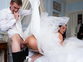 Simony Diamond & Danny D in Big Butt Wedding Day - Brazzers big tits