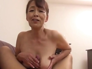 First Time Shots! 60 Something Fusae Tani big tits