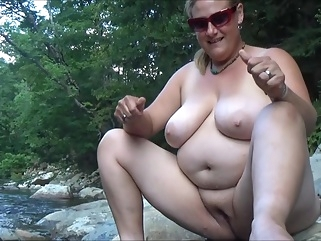 Real Life, Real Amateur 02; An Outdoor Afternoon- NO SEX! bbw