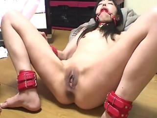 Asian skinny slave fisting 2 asian