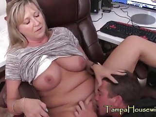 Mom and son milf