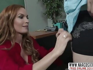 Watch Annoyed Stepmom Diamond Foxxx In Stockings hd videos