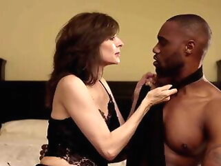 Wife hires young BBC escort give satisfy her needs interracial
