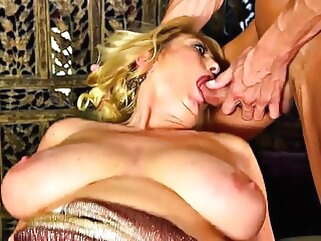 MTHRFKR-Big Saggy Tit Mom Gets Fucked stockings