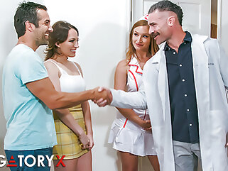 PURGATORYX Fertility Clinic Vol 1 Part 1 with Lily & Skylar brunette